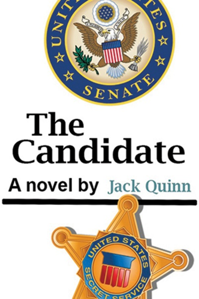 Book cover image with illustration of US Senate shield and Secret Service badge