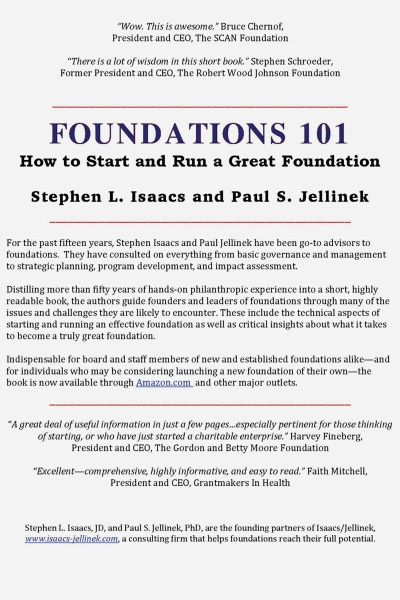Foundations 101 book cover