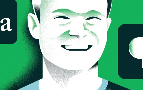 Illustration of David Markey '18