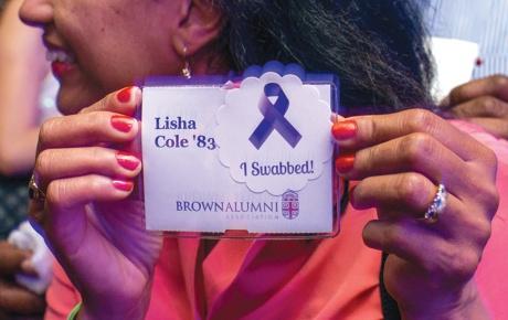 Photo of Lisha Cole '83 swabbed