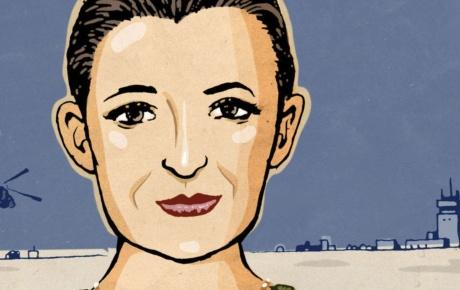 Illustration of Kathleen Scanlon '12 ScM, '16 PhD