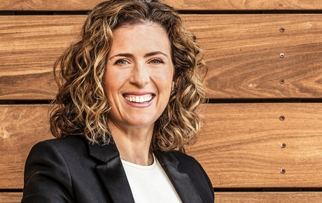 Alison Rosenthal '98 smiles