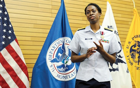 Image of Deputy Surgeon General, Rear Admiral Erica G. Schwartz