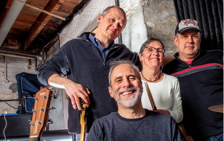 Kerry Smith, Joe Meisel, Janet Blume and Baylor Fox-Kemper of Dirty Filthy Basement