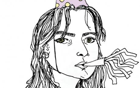 Self-portrait by Pia Mileaf-Patel