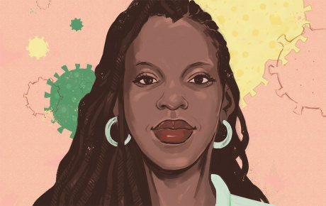 Dr. Nicole Alexander-Scott illustration by Noa Denmon