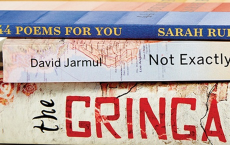 Books by Sarah Ruhl, David Jarmul, and Andrew Altschul