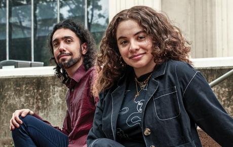 Image of Babak Hemmatian and Gaia-Marie Gerbaka