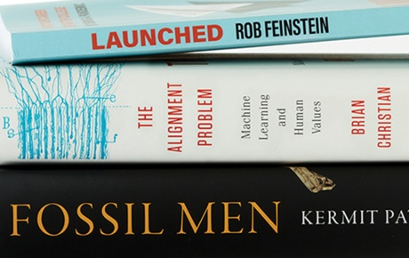 Books by Kermit Pattison '90, Brian Christian '06, and Rob Reinstein '81
