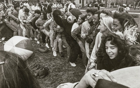 Image of spring weekend in 1986