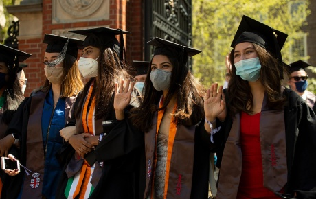 Image of 2021 Brown graduates by Nick Dentamaro