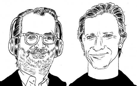 Illustration of Randall Poster and Josh Deutsch